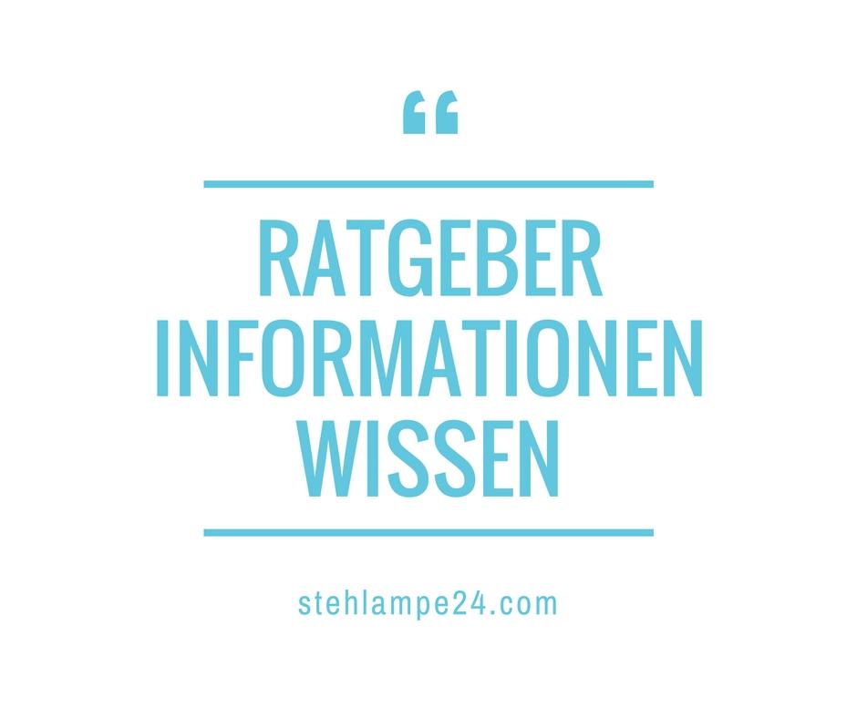 Stehleuchten modern ++ Info ++ Ratgeber ++ Testsieger
